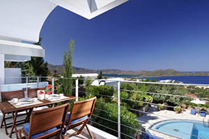 Accommodation villas in Crete - Agios Nikolaos