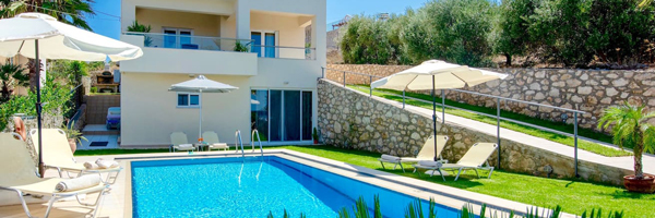 Accommodation villas in Crete - Chania